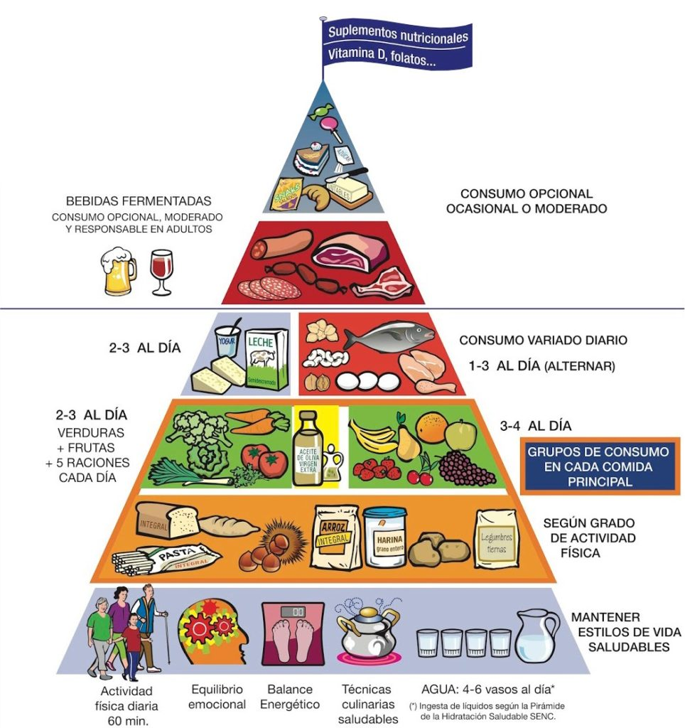 piramide nutricional oms