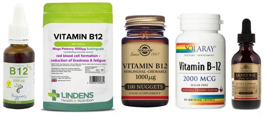 VITAMINA b2 12 EN VEGANOS Y VEGETARIANOS